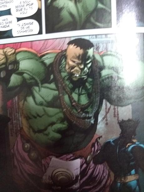 Look at hulk's collar at wolverine vs hulk