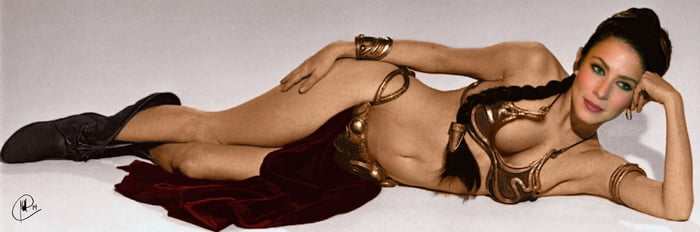 Lynn Collins Giving Life To A Hotter And Sexier Leia Organa 9gag