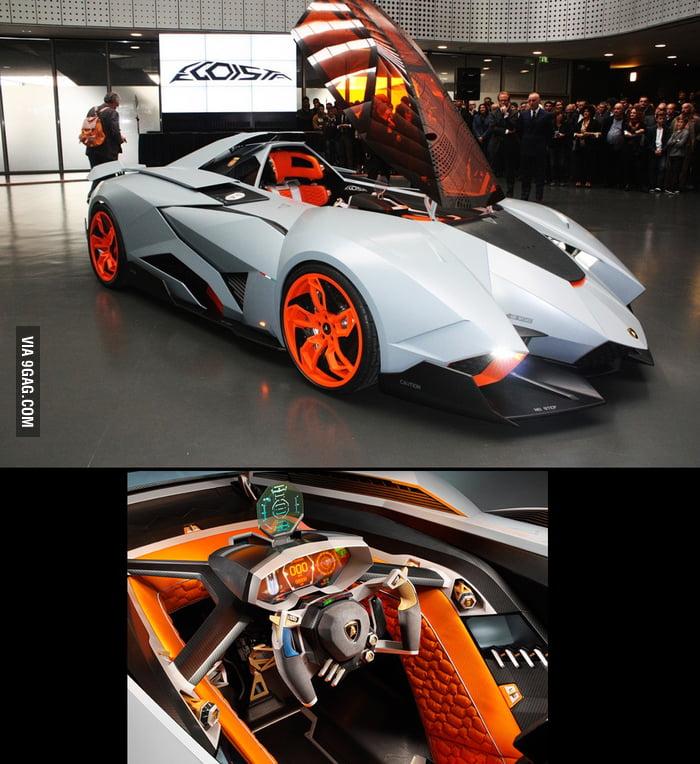 Lamborghini Egoista Hmm Looks Like I Can Go Back To The Future