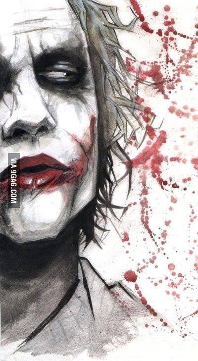Awesome Joker Fan Art! - 9GAG