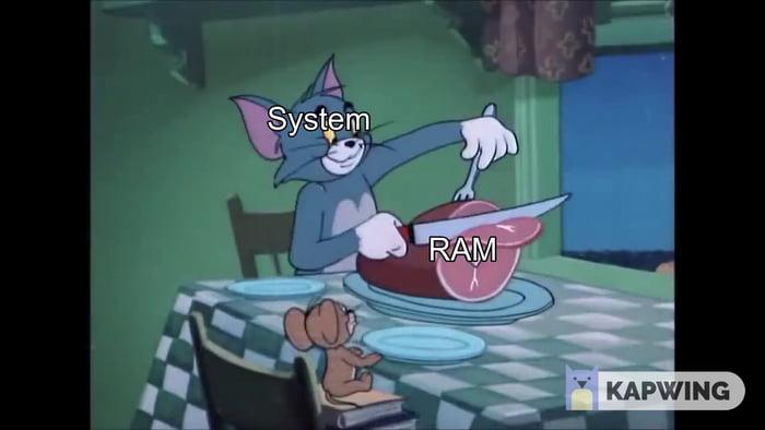 4gb RAM laptop