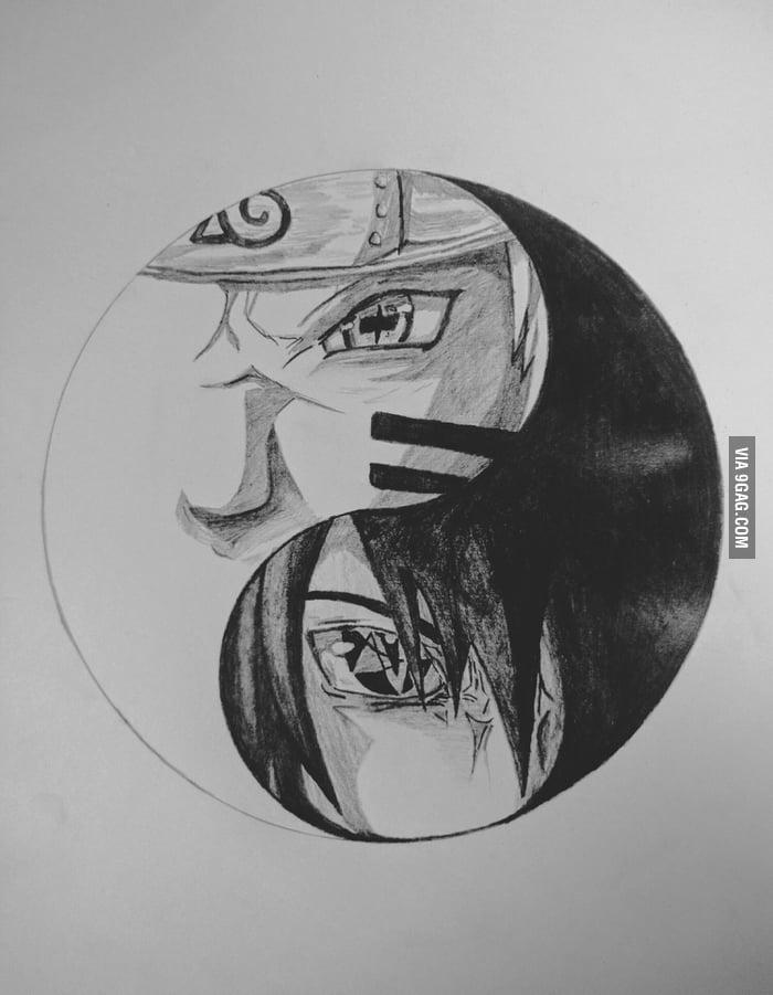Naruto Sasuke, Yin - Yang - 9GAG