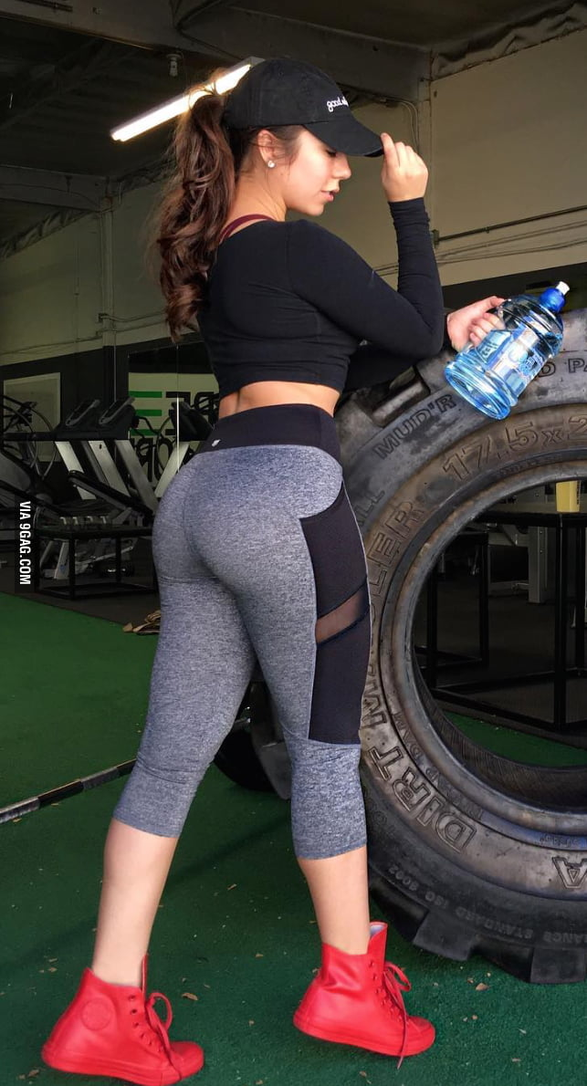 Nice ass in leggings
