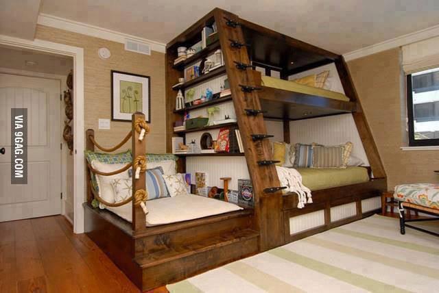 Nice bunk bed.