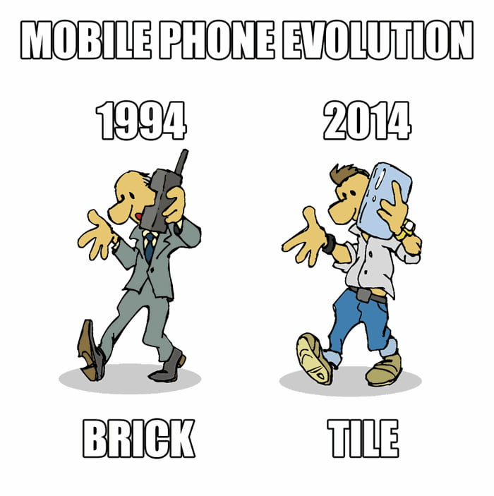 evolution of phones 9gag