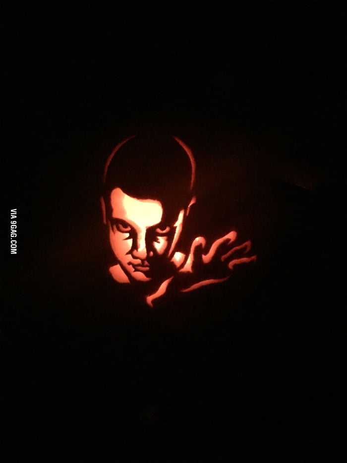 Jack O Lantern I Carved For Halloween Its 11 From Stranger Things