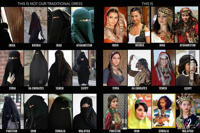 This Is NOT Our Traditional Dress! There Is More To Our