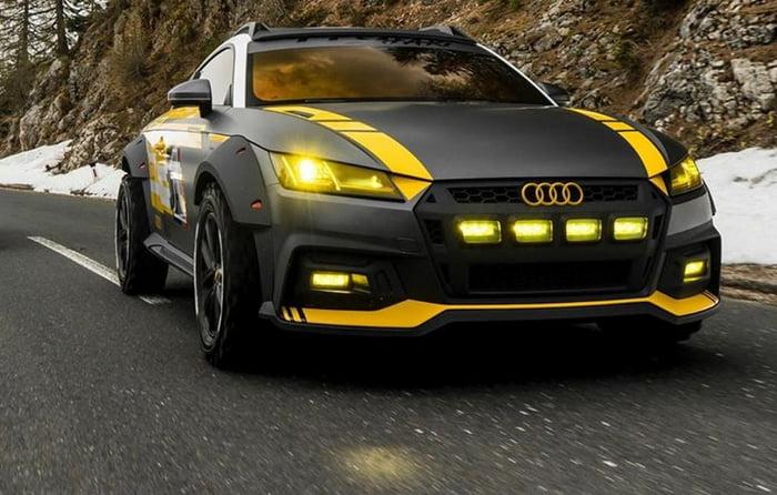 Audi Tt Safari Looks Pretty Good Imo 9gag
