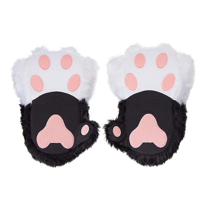 fe8a2ff8577 The best part  They purr and meow when you walk. Flip the switch on and the  slippers will take turns purring and meowing with each step you take.