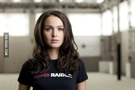 Camilla Luddington Aka Lara Croft Tomb Raider 2013 9gag