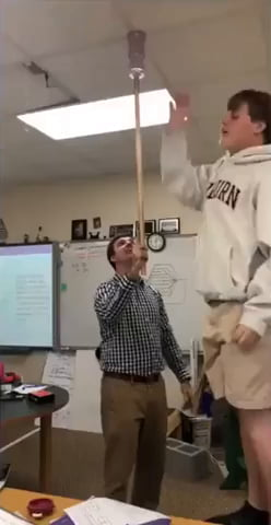 Kids tried to prank their teacher