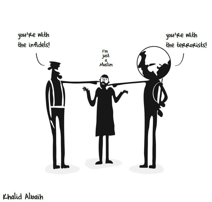 99 percent of Muslims are in this situation