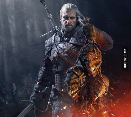 Geralt Of Rivia Witcher Art For The Witcher 3 Wild Hunt