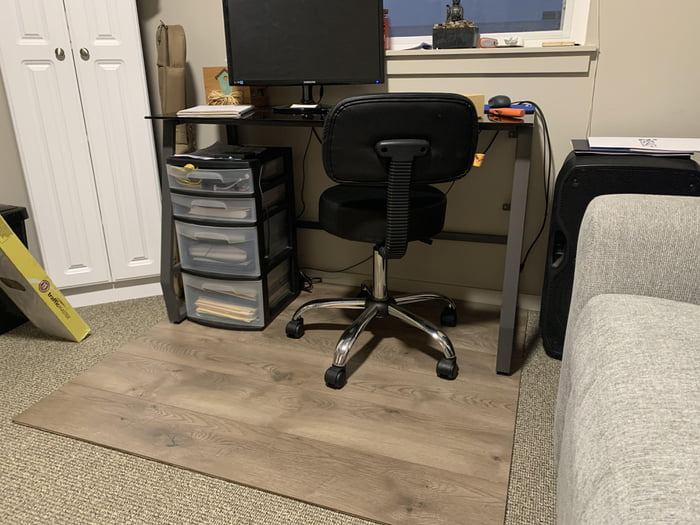 Suggested Using Laminate Flooring, Office Chair On Laminate Flooring
