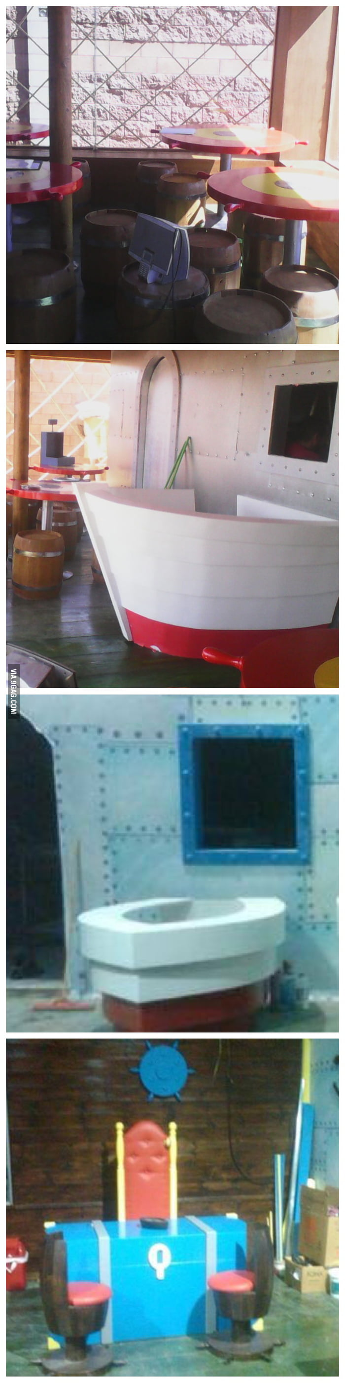 More pictures of the Krusty Krab - 9GAG