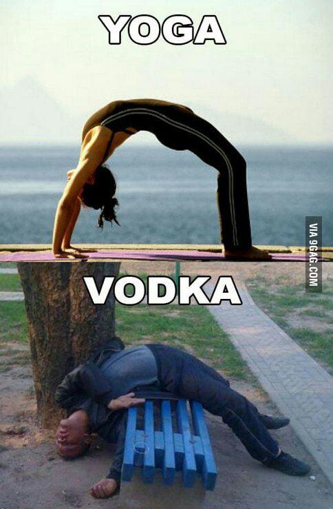 Yoga Vodka 9gag