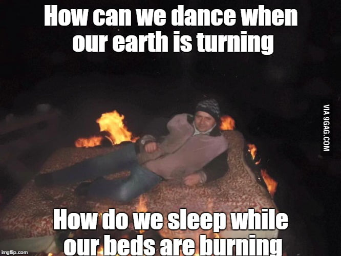 Midnight Oil Beds Are Burning 9gag