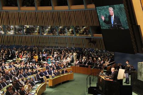 Trump f**k NK, china, putin and iran in UN