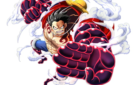 How To Draw Drawing Monkey D Luffy Gear 4 One Piece Diy