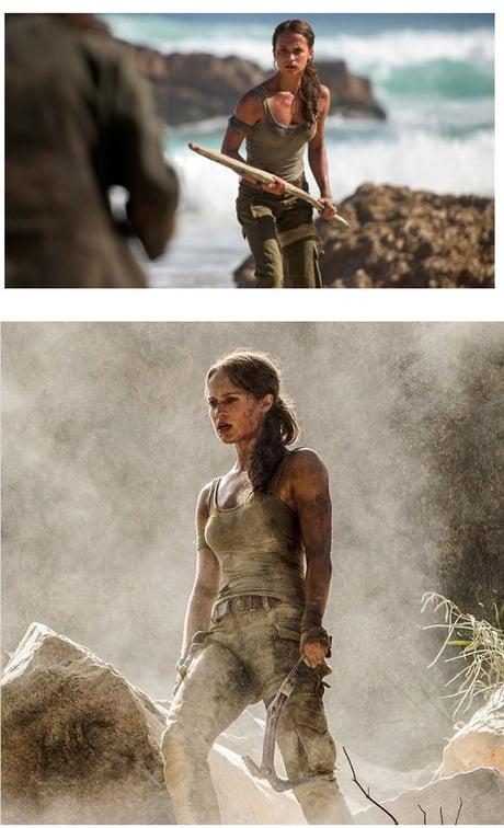 Photos of Alicia Vikander as Lara Croft