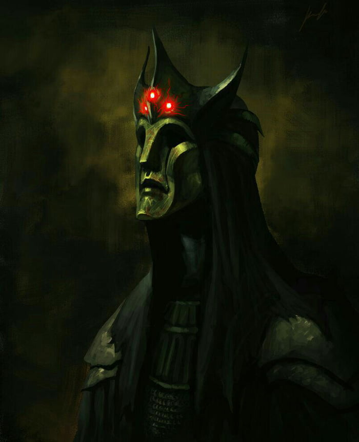 Morgoth, the first dark lord concept art - 9GAG