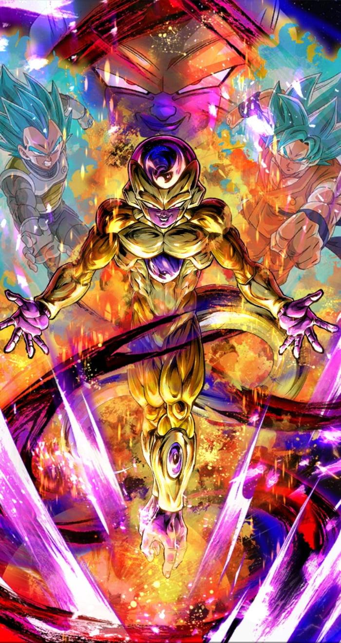 Golden Frieza Dragon Ball Legends 9gag