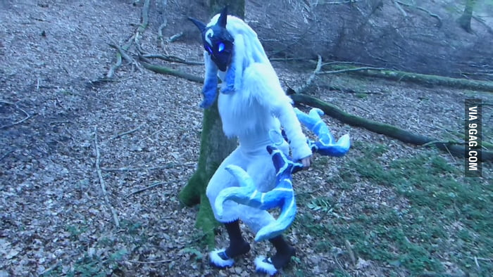 Kindred from League of Legends! It's my very first Cosplay