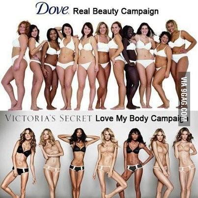 Dove campaign partially nude photos