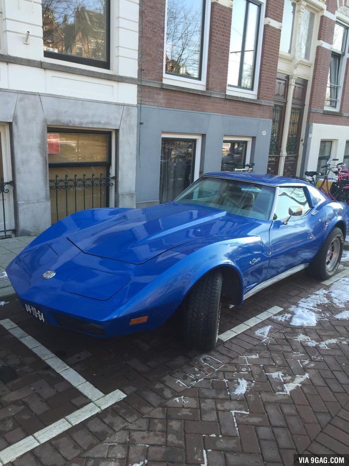 Old school Corvette Stingray. - 9GAG