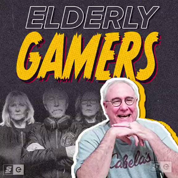 Never too old to game.