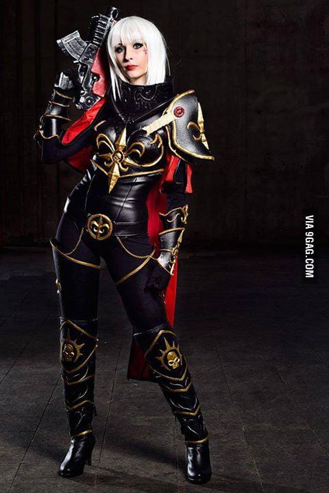 Warhammer 40000. Sister of Battle Cosplay - 9GAG