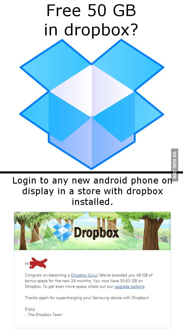 Dropbox Lifehack - 9GAG