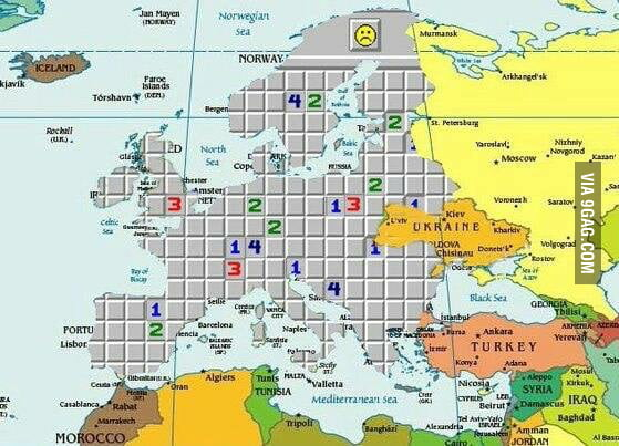 Map of Europe today 9GAG – Map of Europe Today