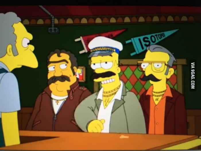 Homer Simpson Beard