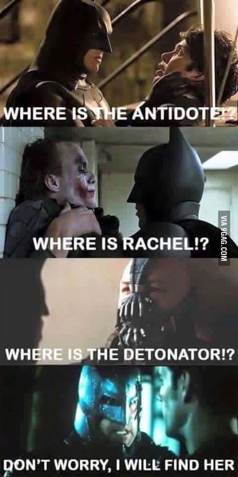 Worlds Greatest Detective Batfleck 1 Baleman 0 9gag