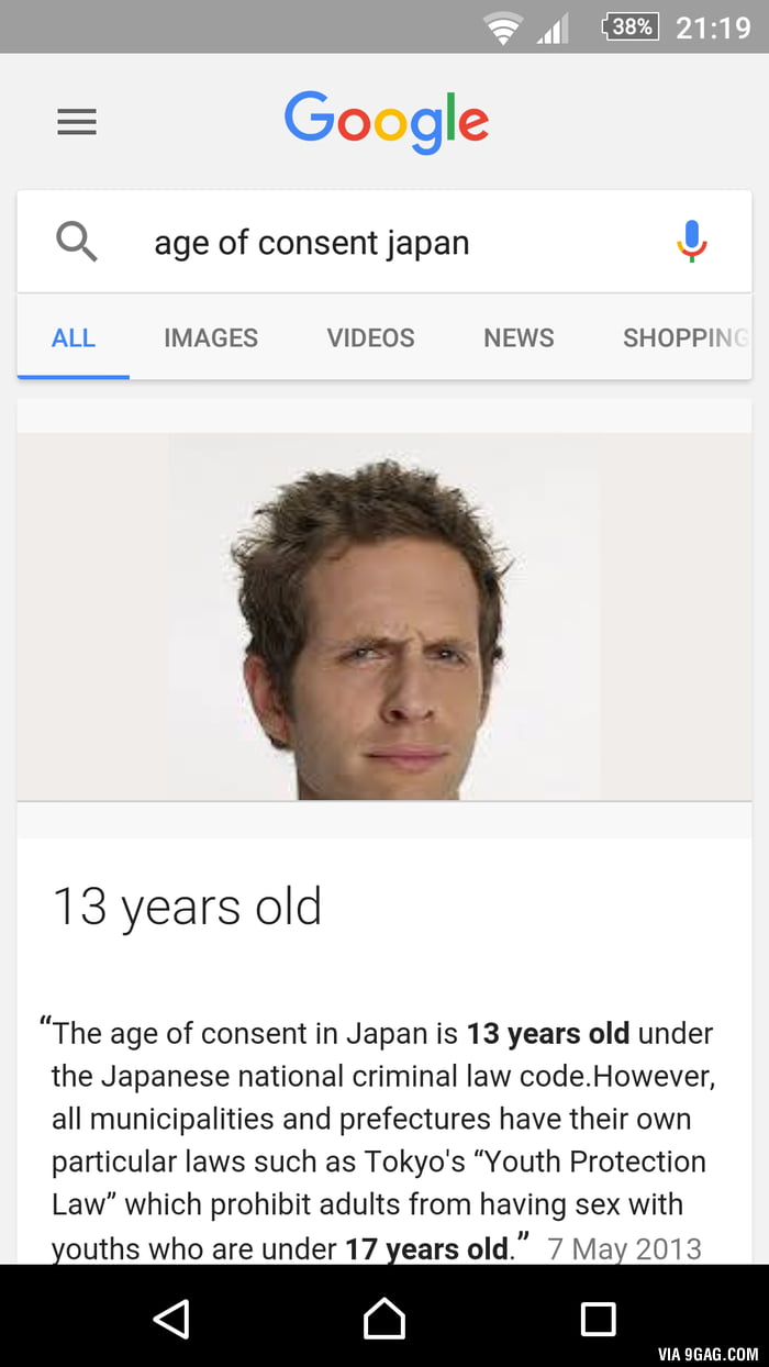 In age meme consent of japan in japan