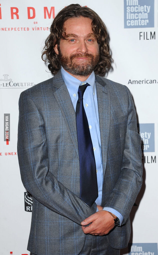 So This Is How Zach Galifianakis Looks Like Right Now I Am Weirded