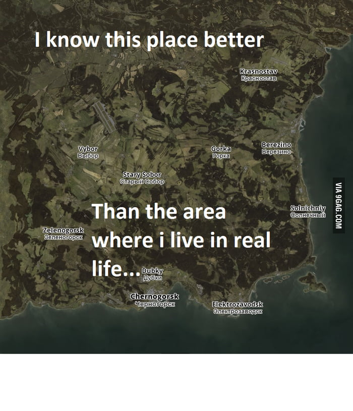 Imo one of the best maps ever made for a game... (Chernarus from ...