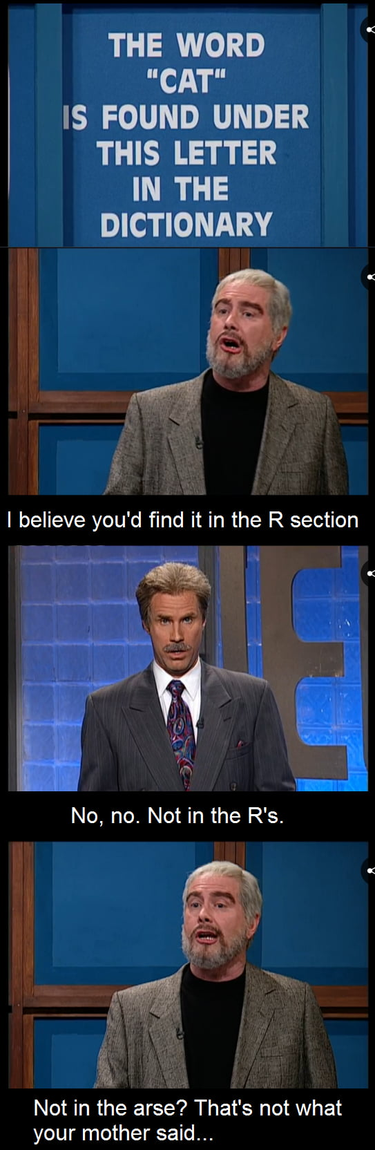 Darrell Hammond As Sean Connery In Snl S Celebrity Jeopardy Sketches Was F King Hilarious 9gag