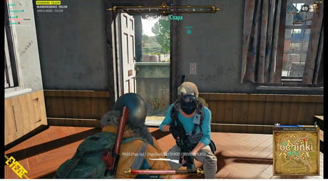 So this guy uses RPG overlay on Playerunknown's Battleground