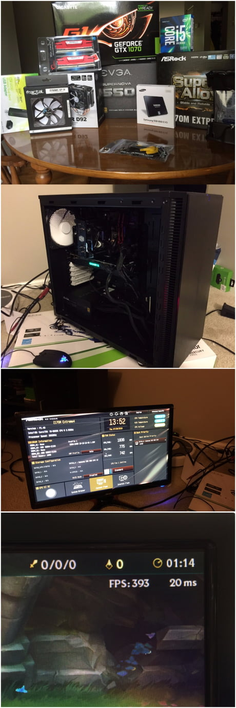 Joined the Master Race to play Lol at 400 fps!