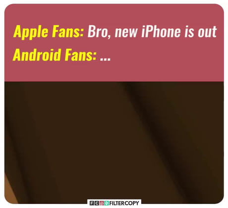 Android fans got no chill