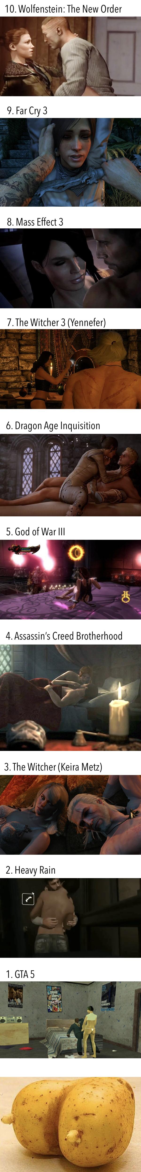 best sex scenes in video games