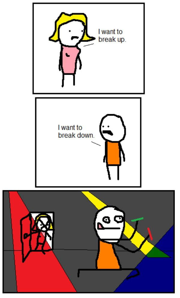 When your girlfriend wants to take a break