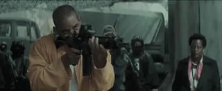 Deadshot's amazing shooting skills.