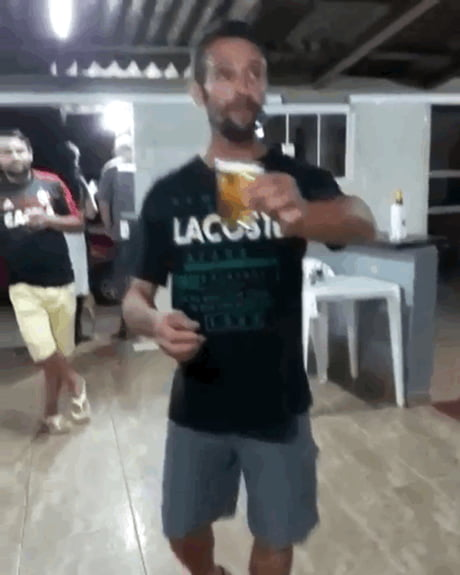 I hold my beer