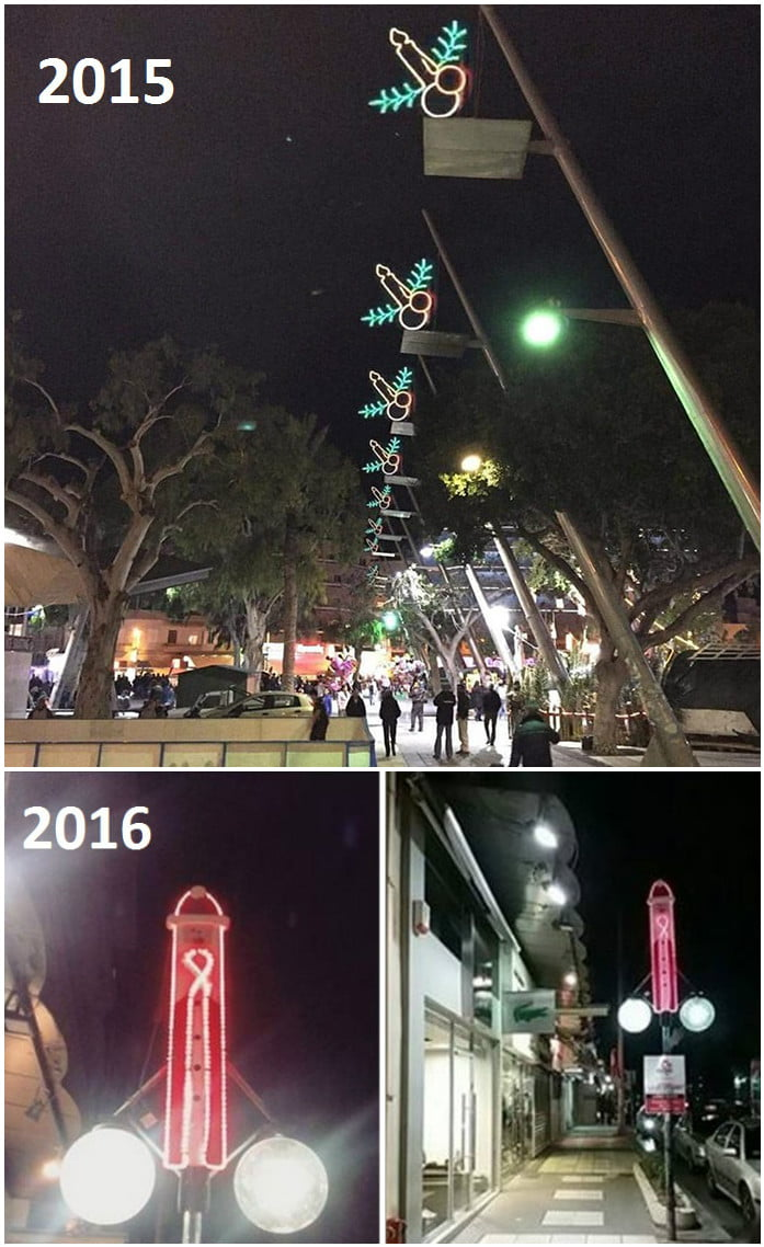 christmas decoration in greece 9gag